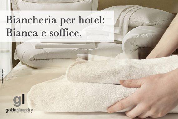 Biancheria per hotel: candida e soffice